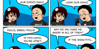 "Comic 37 – ""Daily Distractions"""