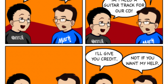 "Comic 137 – ""Mark"""