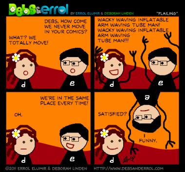 """Comic 167 – """"Flailing"""""""