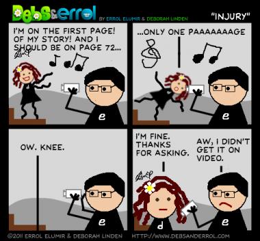 """Comic 180 – """"Injury"""""""