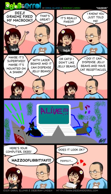 "Comic 229 – ""Macbook"""