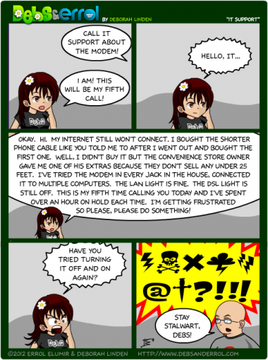 """Comic 275 – """"IT Support"""""""