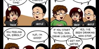 "Comic 299 – ""Gigging Again"""