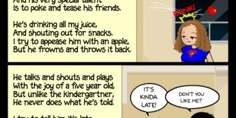 "Comic 305 – ""Whitless Poems"""