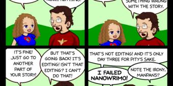 "Comic 470 – ""NaNoStuck"""