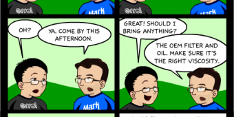 "Comic 488 – ""Oil Change"""