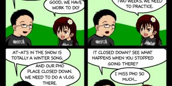 "Comic 494 – ""Pho Sadness"""