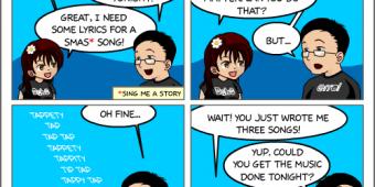 """Comic 501 – """"Last Minute"""""""