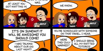 "Comic 564 – ""Con-G Panels"""