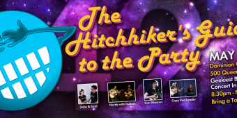 The Hitchhiker's Guide to the Party – #GeekTO