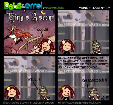 "Comic 669 – ""King's Ascent I"""