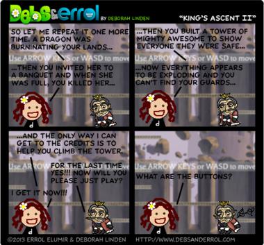 """Comic 670 – """"King's Ascent II"""""""
