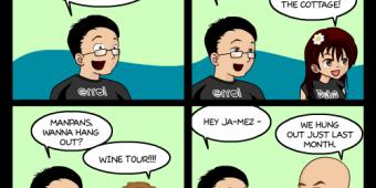 """Comic 704 – """"Hang Out"""""""