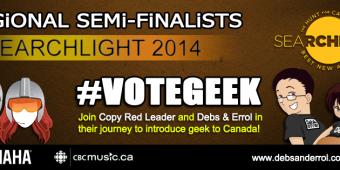#VoteGeek – CBCMusic Searchlight Continues
