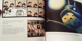 About our Webcomic Book