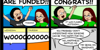 "Comic 1062 – ""Kari Kickstarter!"""