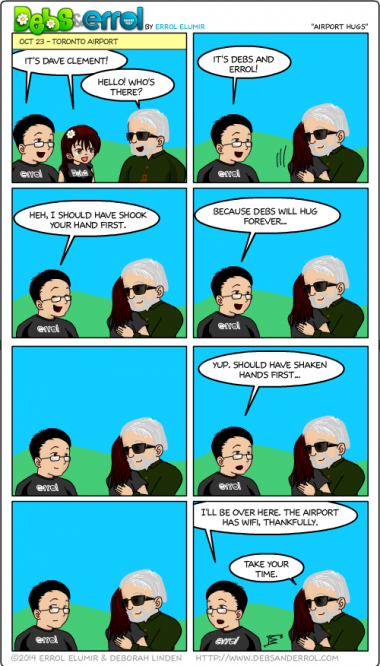 """Comic 1087 – """"Airport Hugs"""""""