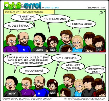 """Comic 1101 – """"Breakfast Club"""""""