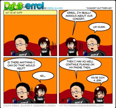 """Comic 1103 – """"Concert Butterflies"""""""