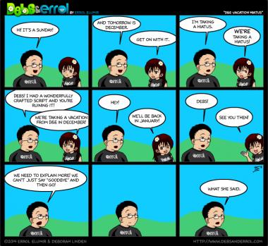 "Comic 1106 – ""D&E Vacation Hiatus"""